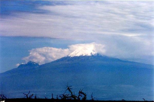 Kilimanjaro, January 2000