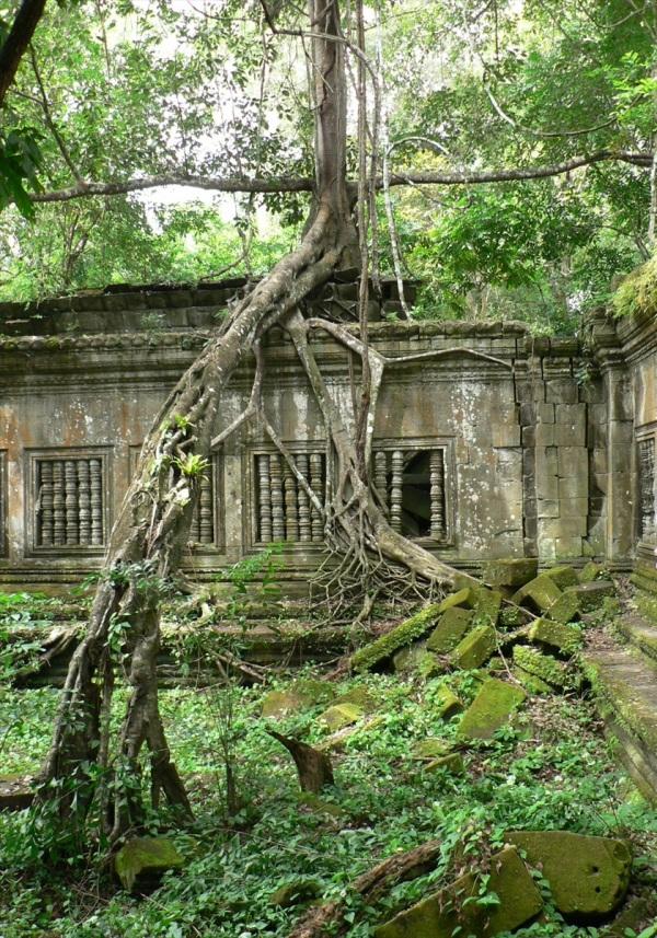 Beng Melea Cambodia Oct 2007