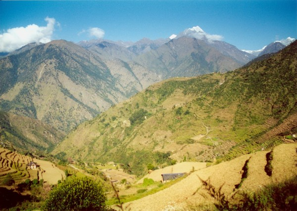 Pangum, Sagarmāthā National Park, Nepal, November 2000
