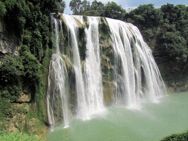 Huangguoshu Waterfall, Guizhou province, China, August 2013