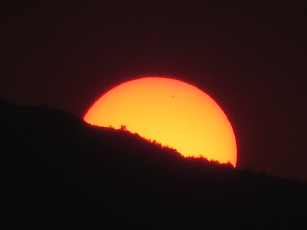 Sunset, south west China 8 October 2014