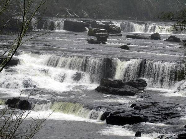 Aysgarth Falls, North Yorkshire, England January 2015
