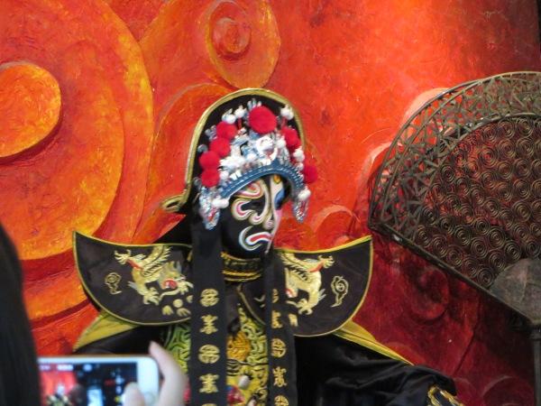 Bianlian (Changing faces) from the Sichuan Opera, Chengdu, China