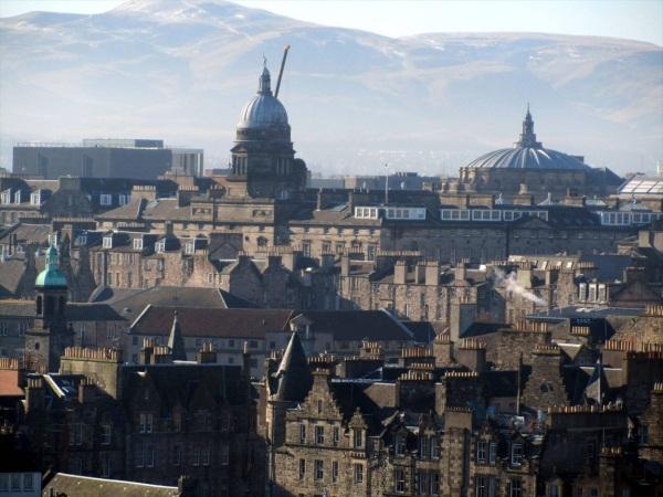 Edinburgh from Calton Hill, February 2013