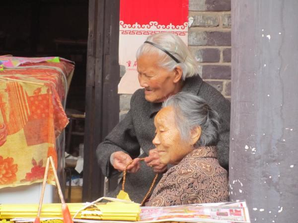 Laitan ancient village, Chongqing, China, April 2013