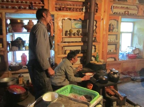 Tibetan house, Daocheng Yading Natural Reserve, Daocheng County, Sichuan Province, China