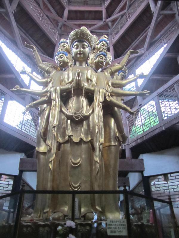 Fuhu Temple, Mount Emie, Sichuan Province, China, June 2013