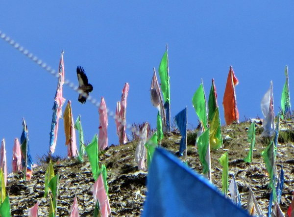 Sky Burial site, Ta Gong, Sichuan Province, China, September 2014