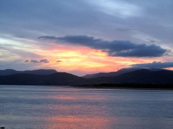 Sunset south west Ireland, June 2012