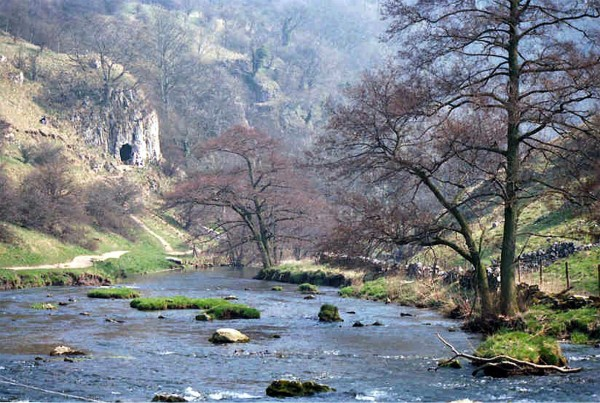 Lathgill Dale, Derbyshire, sometime in the 1980s