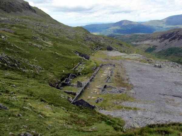 Old Slate Workings, Snowdonia, Wales, July 2014