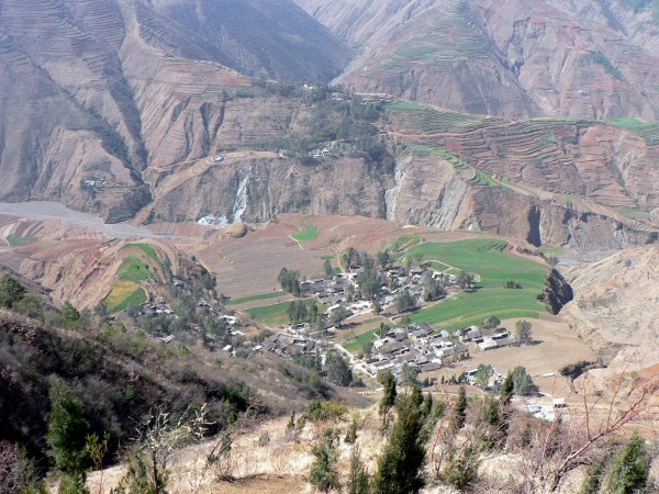Dongchuan, Yunnan Province,  February 2010.  About 100km south of the most recent earthquake.