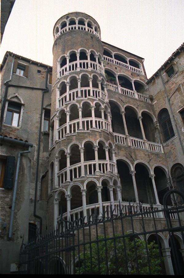 Bovolo Palace, Venice, 2002
