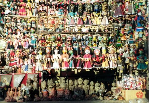 Puppet shop, Kathmandu, Nepal.
