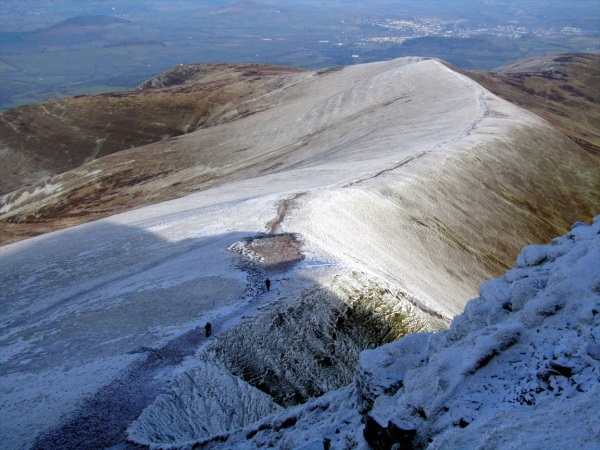 Brecon Beacons National Park, Wales January 2013