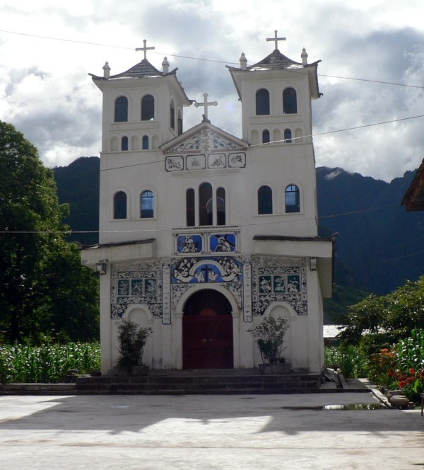 The Catholic Church, Bingzhongluo June 2009, Yunnan Province, China