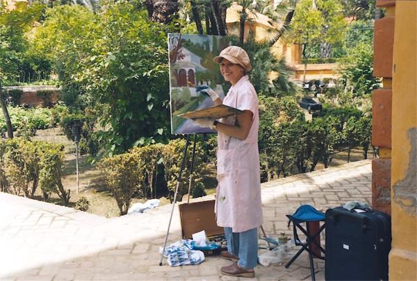 The Alcazar, Seville, Spain, 2004