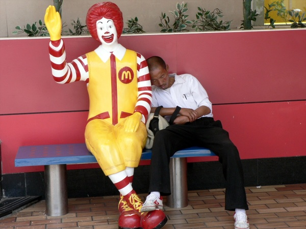Ronald and friend, China September, 2006