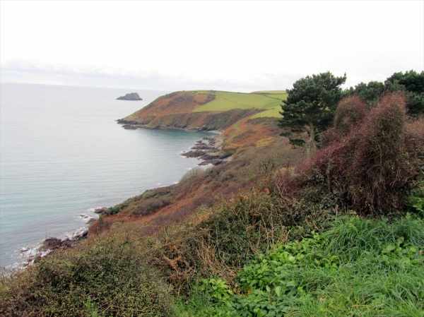 Nare Head, South Cornwall, December 2012