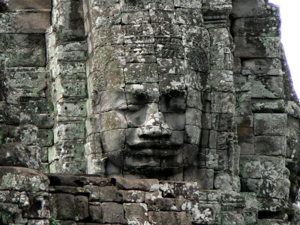 The Bayon, Cambodia, October 2007