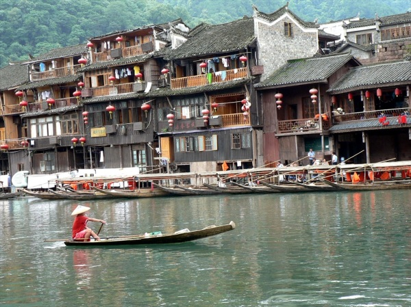 Phoenix Ancient Town, Western Hunan Province, China, July 2009