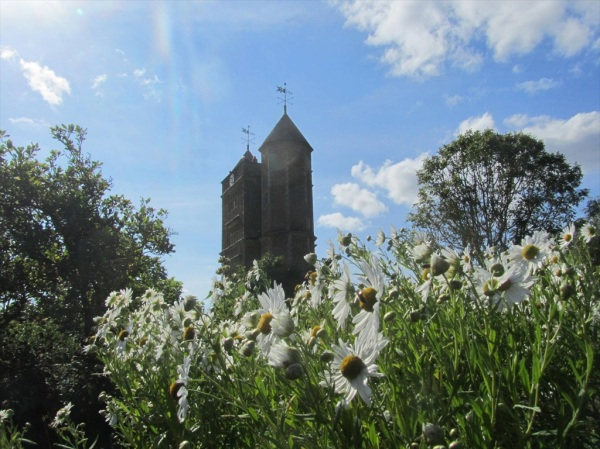 Sissinghurst Castle, former home of poet and writer, Vita Sackville-West, Sept 2012