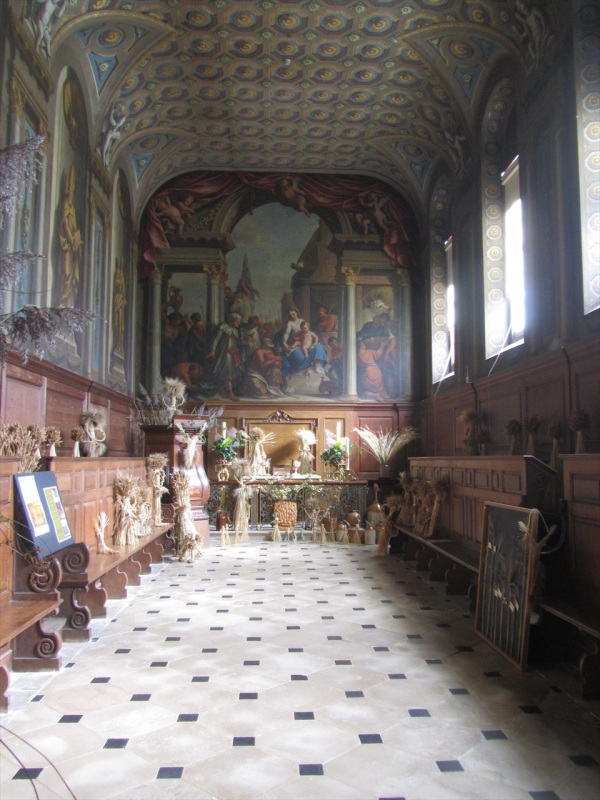 The Chapel, Wimpole Hall, Hertfordshire , England, June 2005
