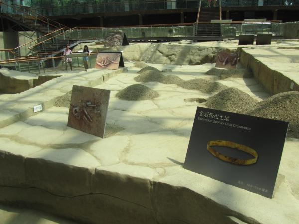 Work in progress, The Ritual House, Jinsha Site Museum
