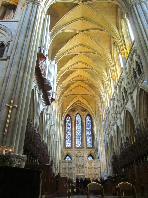 Truro Cathedral, Cornwall, England, Dec 2012