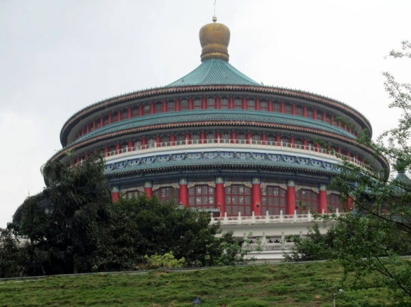 Hall of the People, Chongqing, China.