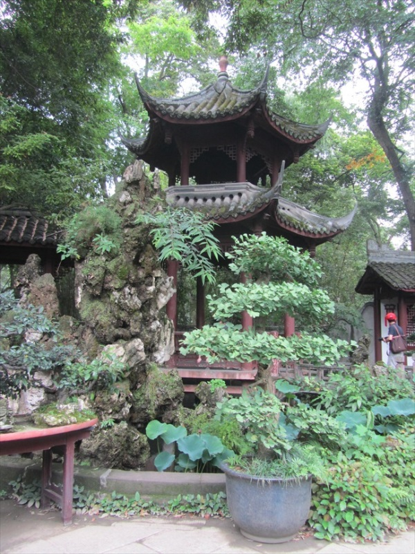 The Du Fu Thatched Cottage, Chengdu, Sichuan Province, China.