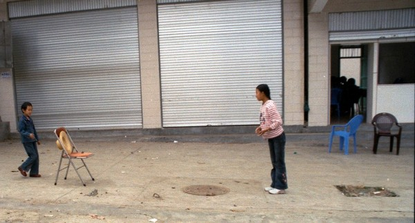Near Hekou and a lunch time game of Hat and Ball
