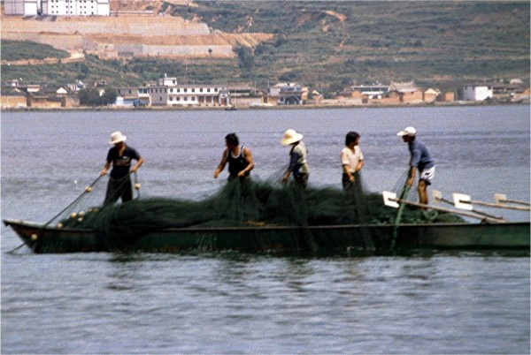 Dali fishing on Erhai