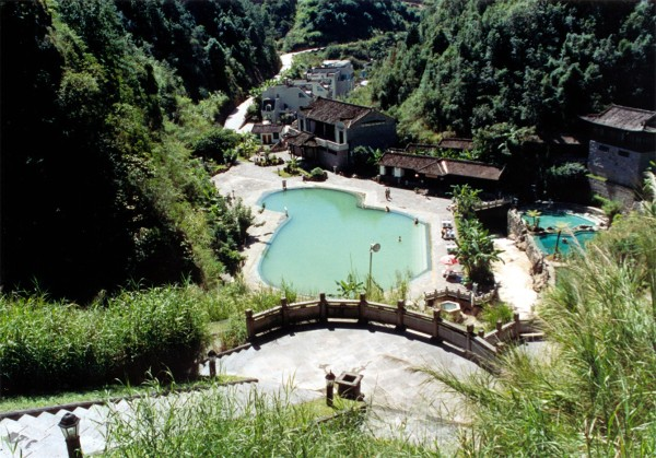 Tengchong hot water spring resort, Yunnan, China