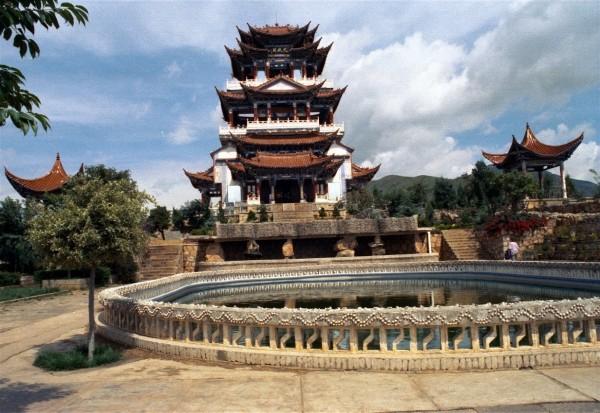 Lijiang - the pagoda