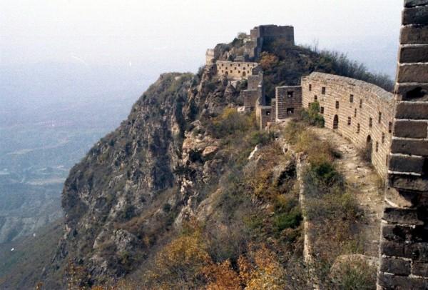 The Great Wall at Simatai, October 2002