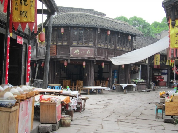 Laitan ancient village, near Chongqing, China