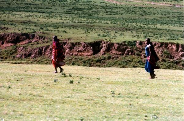 Masai Men, Kenya, 1998