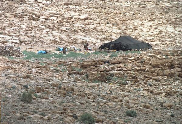 A Bedouin settlement