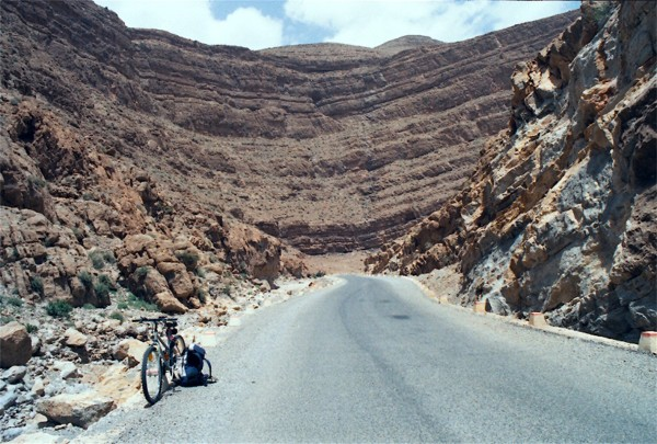 Todra Gorge - looking back