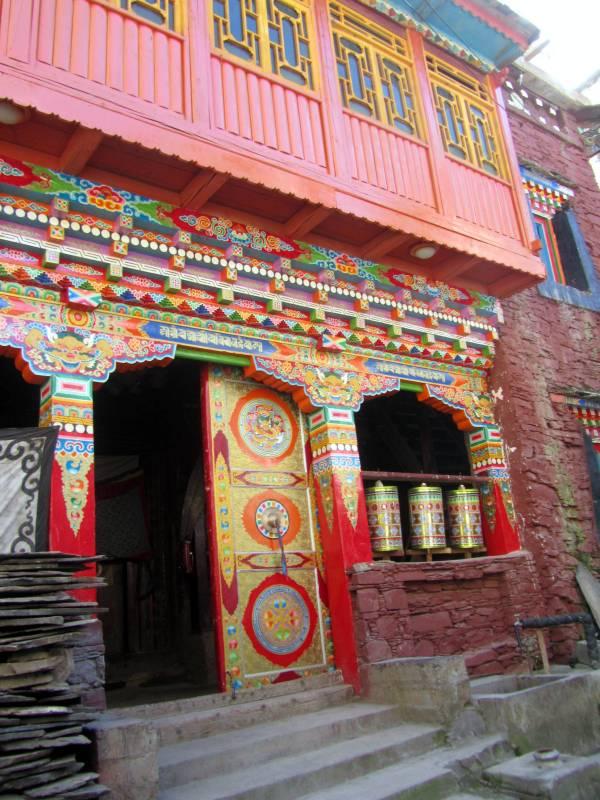 Zhuokeji Chieftain's house and village