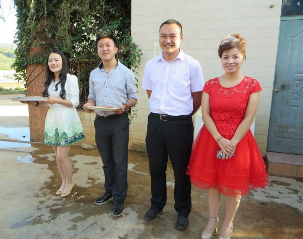 The wedding in Keduzhen