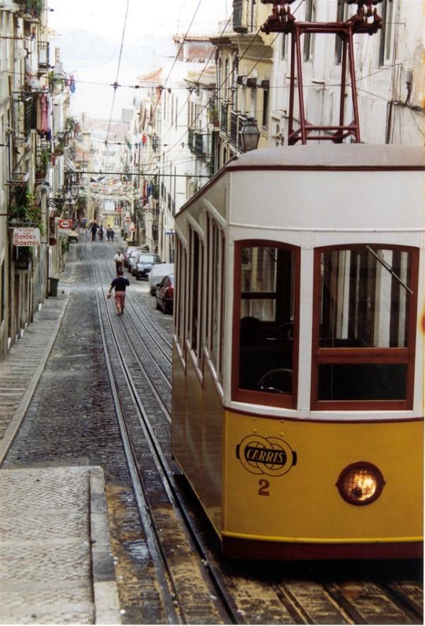 Lisbon from the Bairro Alto.