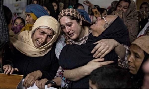 Pakistan grief