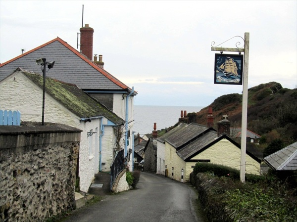The Ship Inn, Porthloe , Cornwall, December 2012